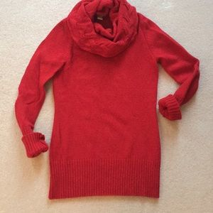 Banana Republic Wool/Cashmere Cowl Neck Sweater